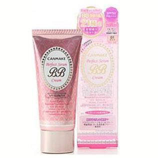 CANMAKE美容液矿物质防晒保湿BB霜SPF50
